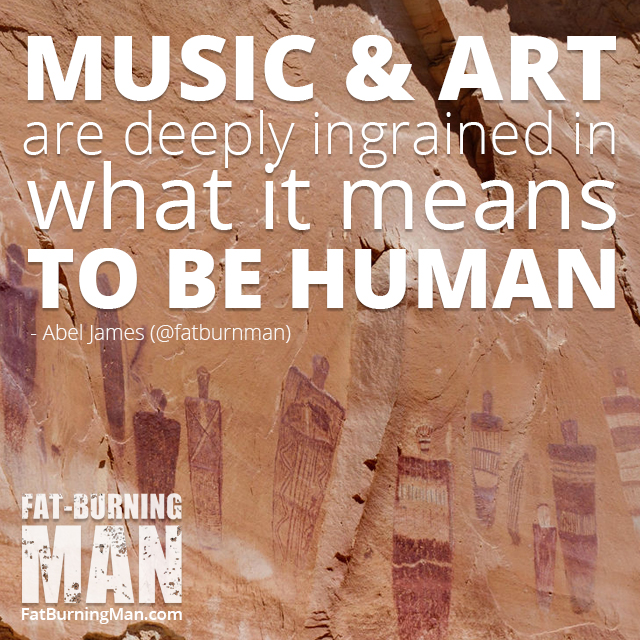 Sharing art, singing, oral traditions… these are essential parts of being human and we're losing them. Read more: http://bit.ly/abelj