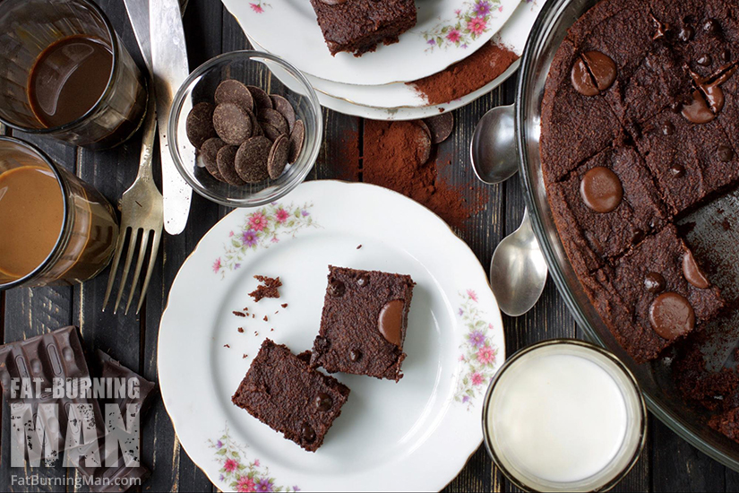 Double Chocolate Sweet Potato Brownies