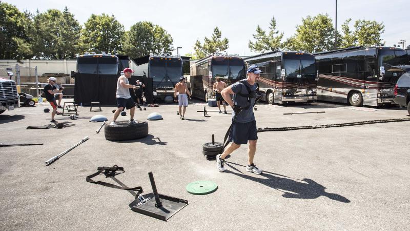 Tim McGraw Band Workout