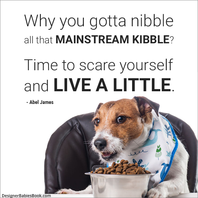 """Mainstream Kibble"" a poem by Abel James"